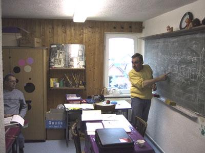 DF5EO bei der Ausbildung